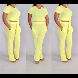 Other - Yellow 2PC set